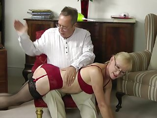 mature amateur Spanking Compilation