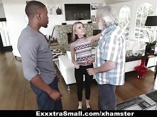 top rated facial ExxtraSmall - Tiny Teen Alina West Sucks Huge Cock To Pay De