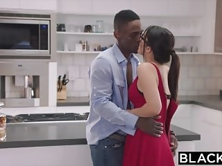 brunette blowjob BLACKED Valentina Nappi takes the biggest bbc in the world