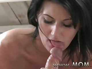 milf mature MOM Mature MILF takes charge of her man