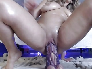 anal amateur Squirting with dildo monster big mature big ass