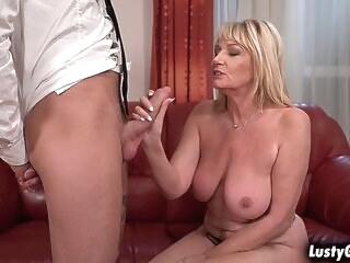 blonde amateur Young stud plows Milf Amys mature pussy so wild