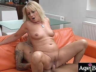 blowjob ass Granny Jana banged nice and good with a young massive dick