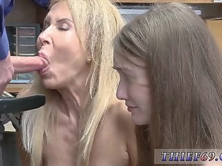 blonde babe Police officer gets fucked Suspects was called to LP office in hopes of