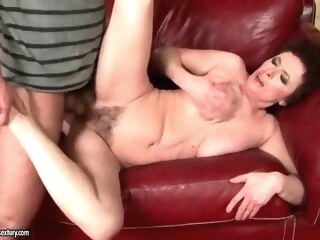 hardcore blowjob Grandmas and Young Men Hot Fuck Compilation