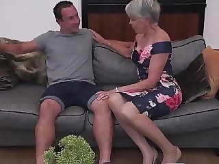 blowjob amateur Sexy granny gets taboo sex from boy