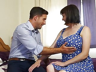 mature blowjob Dream mother pleasing hungry son